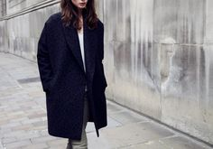WORN IN LONDON. The Leopard Klein Coat on Location. Set against a London backdrop, our Autumn style hits the street.