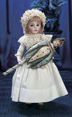 Magnifique! Family Dolls of Mildred Seeley:                       186  Bisque Bebe by Leon Casimir Bru,Size 6