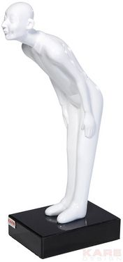 Deco Figurine Welcome Guests White Small