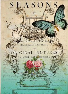 Vintage printable - So Pretty