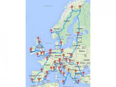 Tätä kannattaa hyödyntää: optimoitu ajoreitti ympäri Euroopan | Matkalla | Motouutiset
