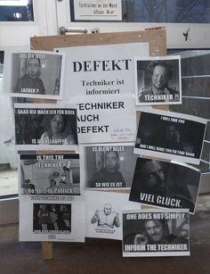Als diese Tür in Mainz kaputt ging.   27 Momente, die Dich im Scheißjahr 2015 trotzdem zum Lachen gebracht haben