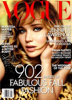 Vogue US September 2013 | Jennifer Lawrence by Mario Testino
