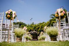 Decoração de casamento, casamento de dia, flores - Laura Garcia Fotografia