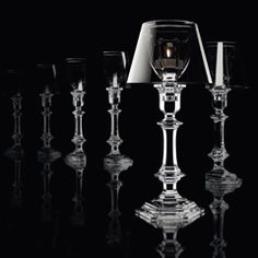 OUR FIRE BOUGEOIR PHILIPPE STARCK CRISTAL | Baccarat Bougeoirs & photophores