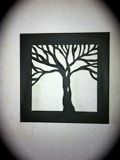 Canvas Tree Cut Out