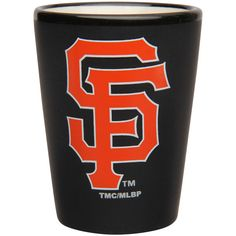San Francisco Giants 2oz. Two-Tone Matte Collector Shot Glass - $6.99
