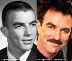 Then and Now: Tom Selleck