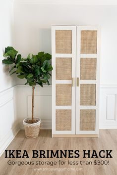 DIY You can have beautiful affordable storage with an Ikea hack! Check out this DIY step by step tut Decor Room, Living Room Decor, Diy Home Decor, Bedroom Decor, Ikea Living Room Storage, Ikea Dining Room, Boy Decor, Patio Dining, Room Decorations