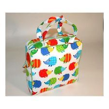 Hedgehogs Travel Toiletry Cosmetic Jumbo Holdall