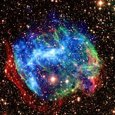 Astronomers have uncovered evidence that a powerful gamma-ray burst, one of nature's most catastrophic explosions, occurred in our own Milky Way galaxy just a few thousand years ago.
