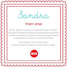 Origen y significado de Sandra http://bebesnuk.com/nombre-del-bebe-sandra/  #elnombredelbebe