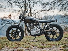 If you go down in the woods today … you'll find a lovely custom Yamaha SR500 from new builder Scramblers Motorcycles.