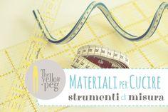 Materiali per cucire - strumenti di misura  guida all acquisto. Tutorial  Artigianali 2ff183d7020