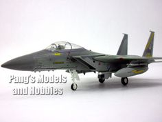 Boeing - McDonnell Douglass F-15 Eagle 1/100 Scale Diecast Metal Model – Pang's Models and Hobbies