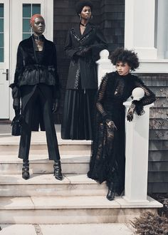 Afro Goth Fashion has a pretty diverse background that includes African and Caribbean cultures. Characterized by dark colors and antiquated clothing...