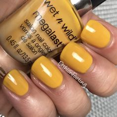 Wet n Wild Cali Sunshine Sns Nails, Nails 2016, Nail Polish Collection, Wet N Wild, Nail Polish Colors, Pretty Nails, Cali, Sunshine, Nail Art