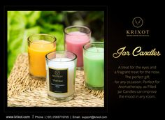 People who believe in quality, they buy #Krixot  A high-quality #Fragrance #JarCandle Visit- http://ow.ly/3GhD307zMCm