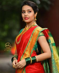 "CuteActressWorld 250k on Instagram: ""मराठमोळी @rangshivani 💕❤️ . . . MUA @madhurikhese_makeupartist 📷 @yogendra_chavhan . .  #cuteactressworld #maharashtrian #sareelovers…"" Beautiful Girl Indian, Beautiful Girl Image, Beautiful Saree, Beautiful Indian Actress, Beautiful Women, Beautiful Gorgeous, Cute Beauty, Beauty Full Girl, Beauty Women"