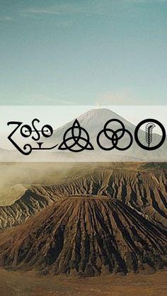 Led Zeppelin Mobile Wallpaper                                                                                                                                                                                 Mais