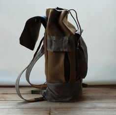 vintage rucksacks, canvas better