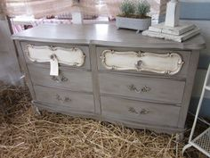Yummy dresser painted with CeCe Caldwell Chalk Paint