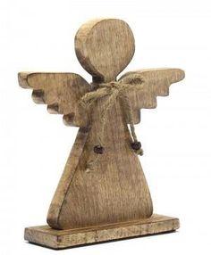 Cor Mulder Anioł Z Drewna 30258  - zdjęcie 1 Last Christmas, Christmas Crafts, Cor Mulder, Bookends, Perfume, Angeles, Home Decor, Design, Creativity