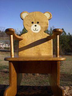 Teddy Bear Nightlight Stained Glass Baby Children