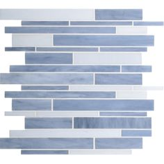 Dazzle Mosaic Stained Glass Tile 12 in. x 12 in. x 3 mm Glass Floor and Wall Tile Stained glass for Kitchen Backsplashes, Bathroom Walls, Spas, Pools by Dazzle Mosaic Pack) ** Check out the image by visiting the link. (This is an affiliate link) Mosaic Wall Tiles, Mosaic Glass, Stained Glass, Blue Backsplash, Backsplash Ideas, Kitchen Backsplash, Tile Ideas, Kitchen Cabinets, Bleu Pale