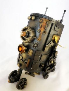 R2D2 steampunk #lovely article in Bit Rebels by @Minervity