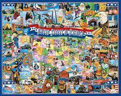 United States Jigsaw Puzzle