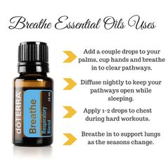lungs and chest clearing! doterra breathe essential oil