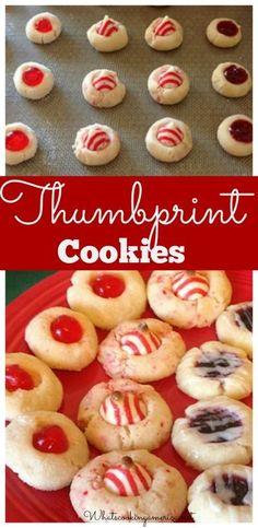 Thumbprint Cookie Recipes |  whatscookingamerica.net  |  #thumbprint #cookie #shortbread #christmas