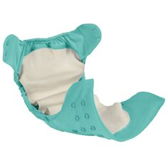 bumGenius Elemental Diaper #CottonBabies - Natural fibers great for sensitive skin.