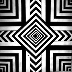easy optical illusion art - Google Search