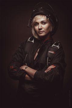 Parachutist / Portrait / Alexey Lobur: professional photographer & retoucher
