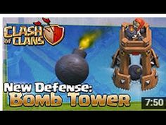 Clash of Clans NEW Bomb Tower - Hog Rider Update