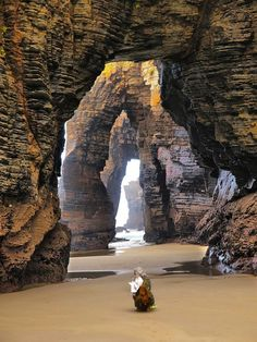 unique beaches_around_the_world_9 The Beach of the Cathedrals, Ribadeo, Spain