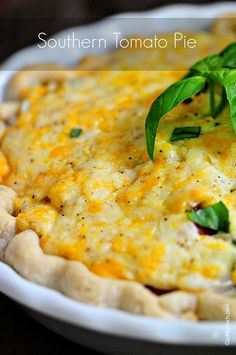 Tomato Pie Recipe | ©addapinch.com