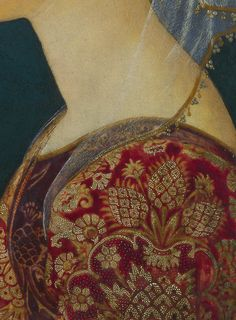 Portrait of a Lady in Red (detail) Unknown Florentine Artist, c.1460