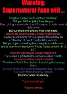 Supernatural.. Except Tuesdays at 9 is the DO NOT TOUCH THE TV night here :-)