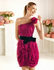 Pronovias presents the Cameo cocktail dress from the 2013 Short Dress Collection. | Pronovias