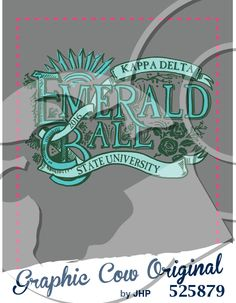 Emerald Ball hand drawn lettering #grafcow #formal