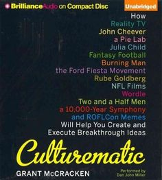 Culturematic: How Reality TV, John Cheever, a Pie Lab, Julia Child, Fantasy Football, Buring Man, Ford Fiesta Move...