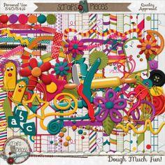 Dough Much Fun - PU/S4H/S4O okay [SNP_DMF] - $3.00 : Scraps N Pieces Store