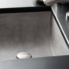 Native Trails Ash Concrete Undermount Rectangular Bathroom Sink at Lowe's. The Cabrillo's rectangular shape and semi-circular sloped bowl showcase its one-of-a-kind coloration. This concrete bathroom sink is artisan-crafted Bathtub Shower Combo, Bathroom Tub Shower, Bathroom Sink Drain, Undermount Bathroom Sink, Concrete Bathroom, Concrete Sink, Master Bathroom, Stone Bathroom, Cement