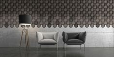 Drop - Design Blocks - Muratto is the brand name of the most refined company of cork wall coverings. Cork Wall, Cork Tiles, 230, Block Design, Drops Design, New Tricks, Surface Design, Design Projects, Diys