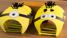 Minions Party Hats Set of 6 Despicable Me by FestivaPartyDesign, $18.00