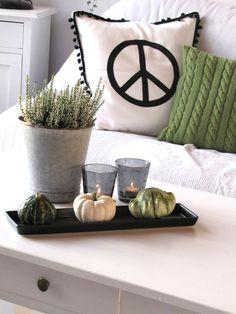 Peace-Kissen DIY