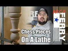 Make Chess Pieces On A Lathe (ep38)